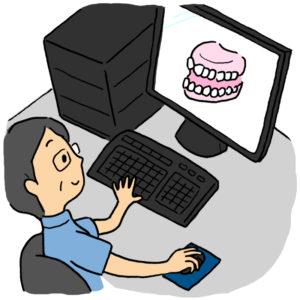 正しい噛み合わせの実現に治療用義歯